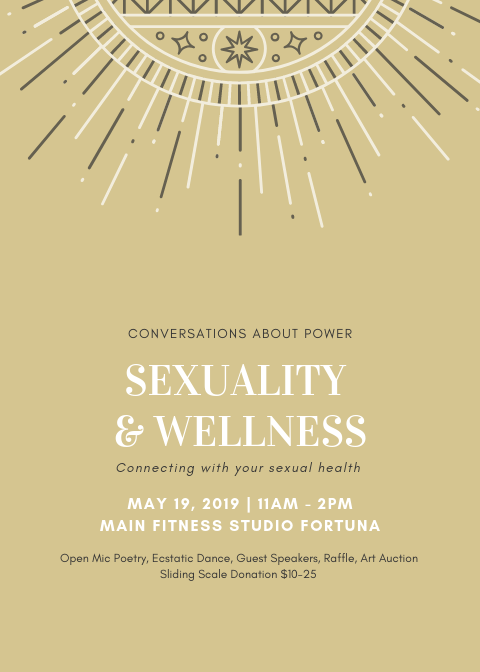 EVENT FLYER SEXUALITY AND WELLNESS